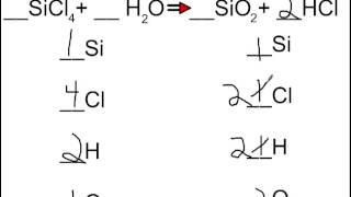 Balancing Equations Part 2