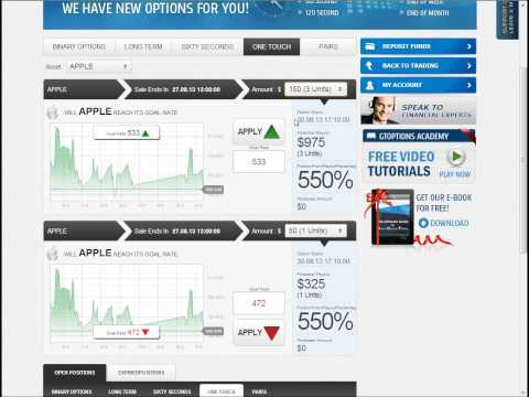 Find a trader to trade binary options