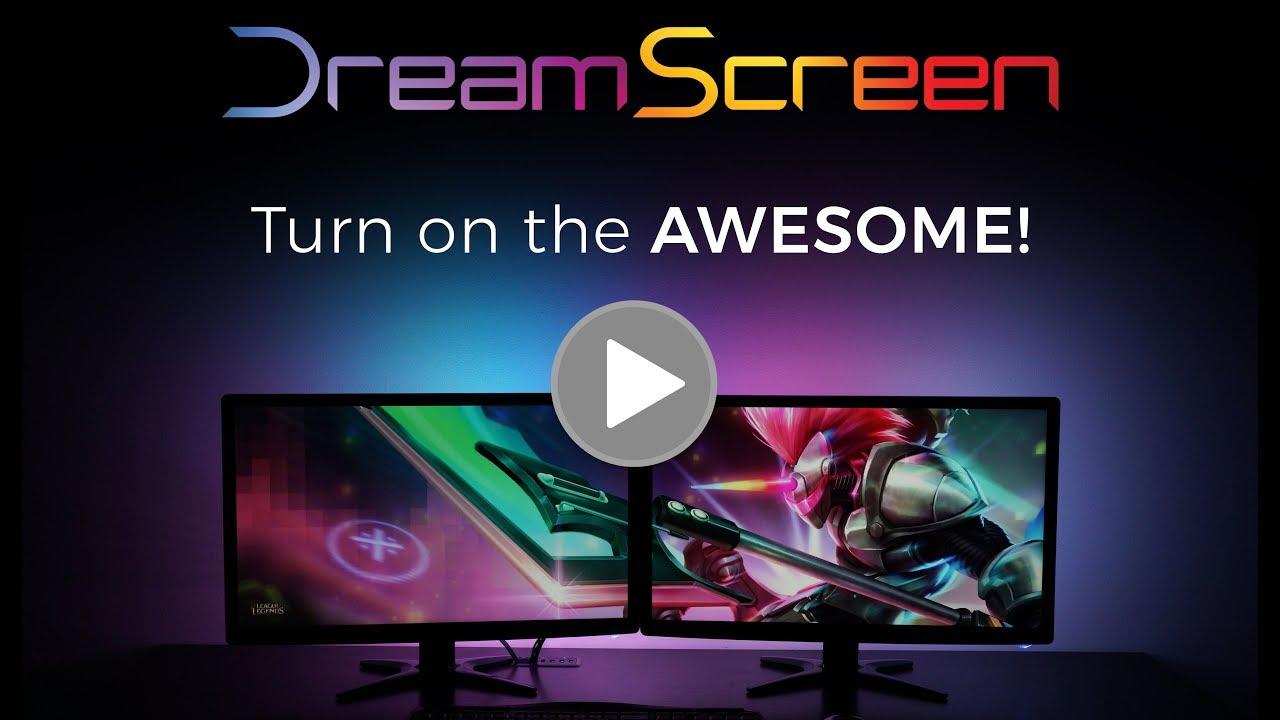 DreamScreen HD Backlighting Kit (Classic) video thumbnail