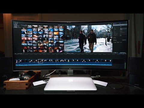 Best Video Editing Monitor – LG 34 Inch Curved Ultrawide Monitor Review