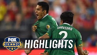 Campos makes it 1-1 with an amazing free kick  against Chile | 2016 Copa America Highlights by FOX Soccer