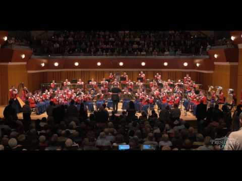 Armed Forces Medley – U.S. Marine Band – Tour 2016
