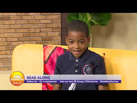 CVM At Sunrise - Read Across Jamaica Day - May 7, 2019