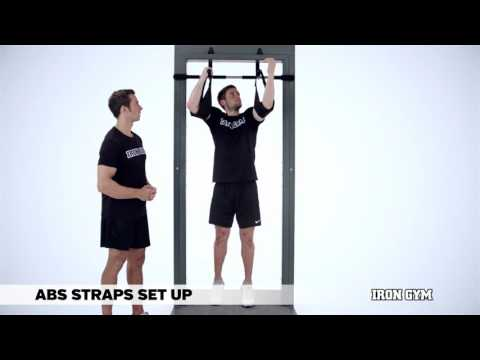 Ab Straps Set Up - IRON GYM® Training Academy