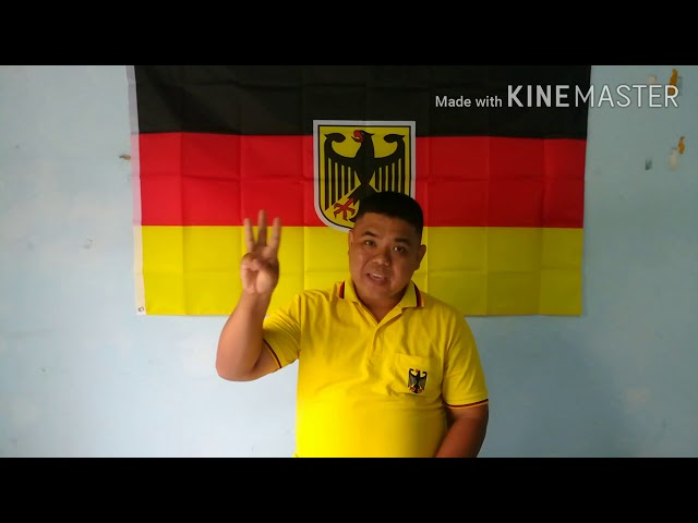 นับเลข 1 ถึง 10 และนับนิ้วมือ เป็นภาษาเยอรมัน โดยไกด์จอห์น