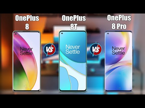 OnePlus 8T vs OnePlus 8 Pro vs OnePlus 8 |Fully Compare