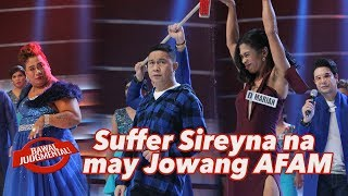 Suffer Sireyna na may Jowang AFAM| Bawal | Judgmental | January 1, 2020