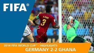GERMANY v GHANA (2:2) - 2014 FIFA World Cup™
