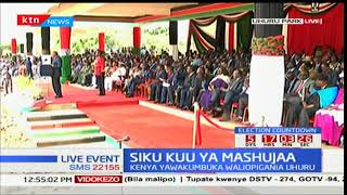 President Kenyatta challenges Kenyans to help someone before 2017 ends