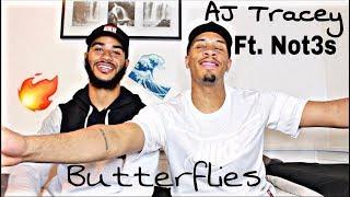 AJ Tracey   Butterflies (ft. Not3s)   REACTION!