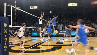 #2 UCLA at #4 UCI Men's Volleyball