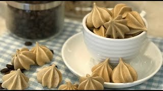 Coffee Meringue 咖啡蛋白糖霜饼