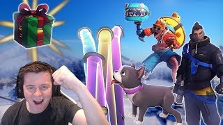 Unboxing 101 Winter Wonderland Lootboxes! + Giveaway [Overwatch]