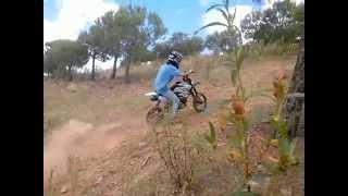 Pit Bike IMR 150 And Lifan 125 Hill Climb