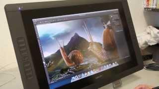 Cintiq 22 HD Touch im Test