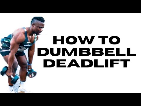 How To Dumbbell Deadlift 2020 - Dumbbell Deadlift - Fitwhey Gym 101 - Patient Cena Fitness