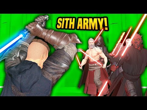 FACING THE SITH ARMY - Blades and Sorcery VR Mods (Star Wars)