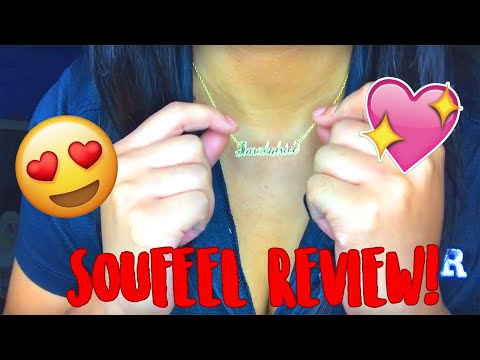 SOUFEEL Jewelry Name Necklace Review!