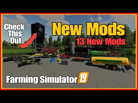 Video Farming Simulator 19 New Mods Massey Ferguson Mf 320 Skidder