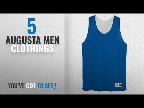 Top 10 Augusta Men Clothings [ Winter 2018 ]: Augusta Sportswear Mens Tricot Mesh Tank, Royal/White,