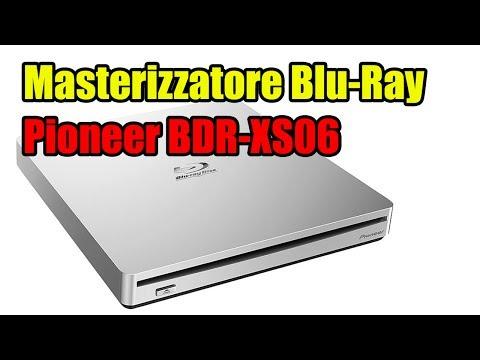 Masterizzatore Pioneer BDR-XS06 Blu-Ray per MAC – 25GB Disco Prova Masterizzatore