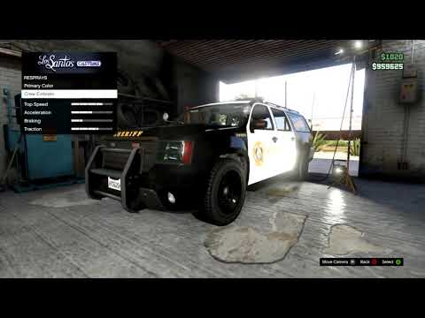 GTA Online   HOW TO KEEP A POLICE CAR GTA V Multiplayer