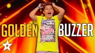 KID Singer Gets GOLDEN BUZZER! | ČESKO SLOVENSKO MÁ TALENT 2018 | Got Talent Global
