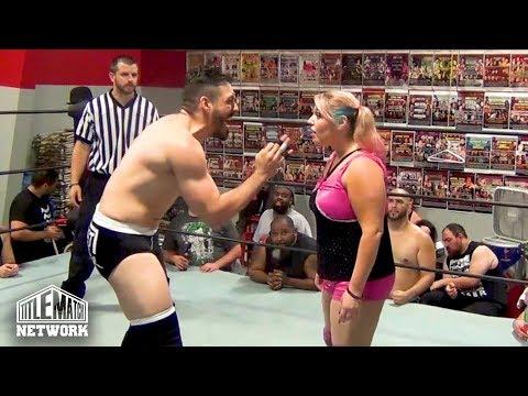 Brooke Danielle vs JustNeph (Intergender Wrestling)