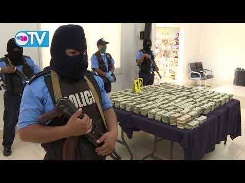 Policía Nacional incauta más de 1 millón y medio de dólares al narcotráfico en León