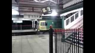 preview picture of video 'Wrexham General 3.12.2013 - Freightliner Class 66 and 70'