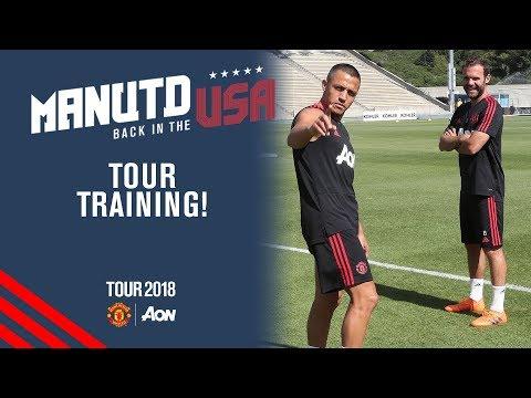 Manchester United Training! | Alexis Sanchez joins squad | USA Tour 2018 Live on MUTV