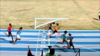 preview picture of video 'BHS Meet 2014 - 100m Class II Female'