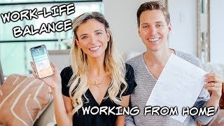 How to Create a Healthy Work Life Balance Working From Home
