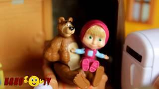 Мультики для детей все серии подряд! Мультики с игрушками Маша и Медведь! Мультики про машинки 2017