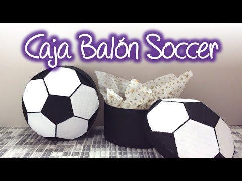 Caja de regalo balon de futbol soccer, Soccer Ball Gift Box
