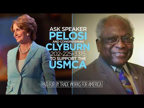 Trade Keeps South Carolina Growing. Tell Congressman Clyburn to Support the USMCA