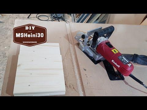 Praxistest - Einhell Flachdübelfräse TC BJ 900 - Test