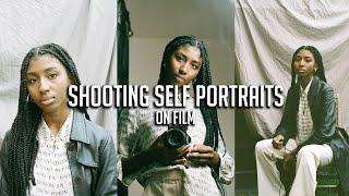 How To Shoot Self Portraits On Film (Canon A1 + Kodak Portra 400)