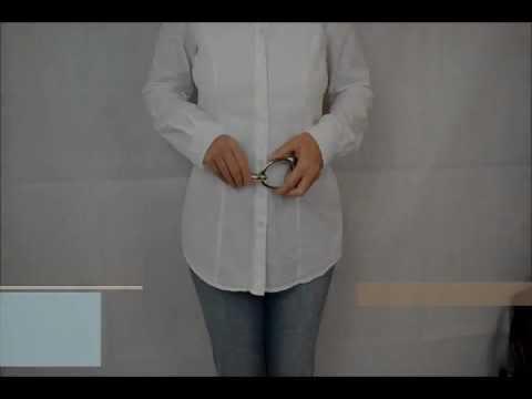 Hüftgürtel Damen-Gürtel Stufenlos verstellbar (81 cm bis 130 cm) - C1-Fashion.de
