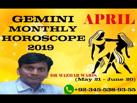 GEMINI April Monthly Horoscope 2019|GEMINI April 2019