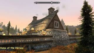 Home of the Heroes - Skyrim Special Edition House Mod