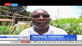 Kitui farmers trained in best practices