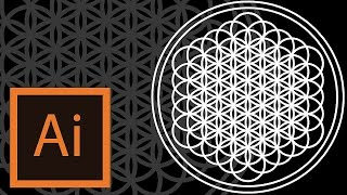 Tutorial The Flower Of Life/Sempiternal Cover (Bring Me The Orizon) -Illustrator