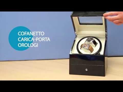 COFANETTO CARICA PORTA OROLOGI