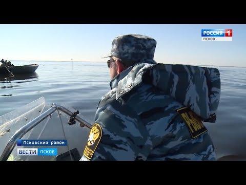 Инспекторы рыбоохраны Псковской области следят за соблюдением Правил рыболовства