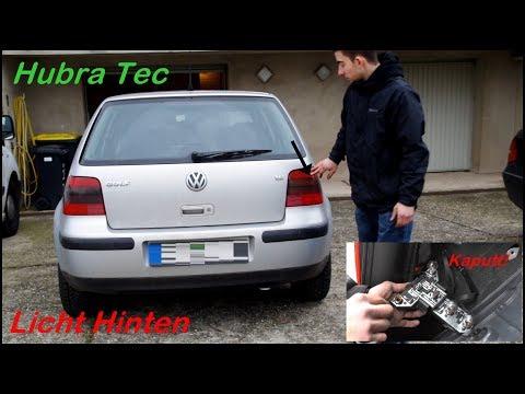 Licht hinten wechseln /  Volkswagen Golf 4