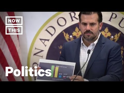Trump's Big Lie About Puerto Rico Busted by Gov Rosselló | NowThis