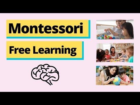 Montessori Free Learning - YouTube