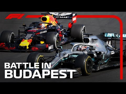 Hamilton And Verstappen's Thrilling Battle   2019 Hungarian Grand Prix