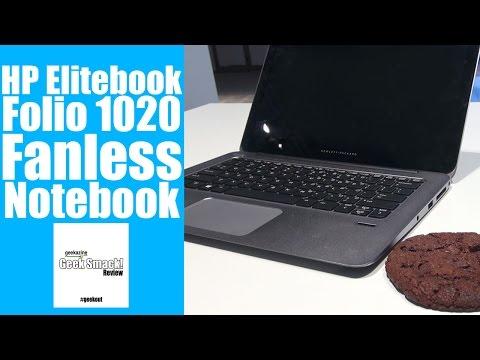 """HP Elitebook Folio 1020 12.5"""" Ultrabook Hands on [CES 2015]"""
